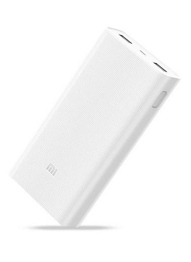 Xiaomi Mi 20000 mAh Powerbank Taşınabilir Şarj Cihazı Beyaz